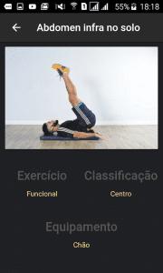 Visualização de exercicio
