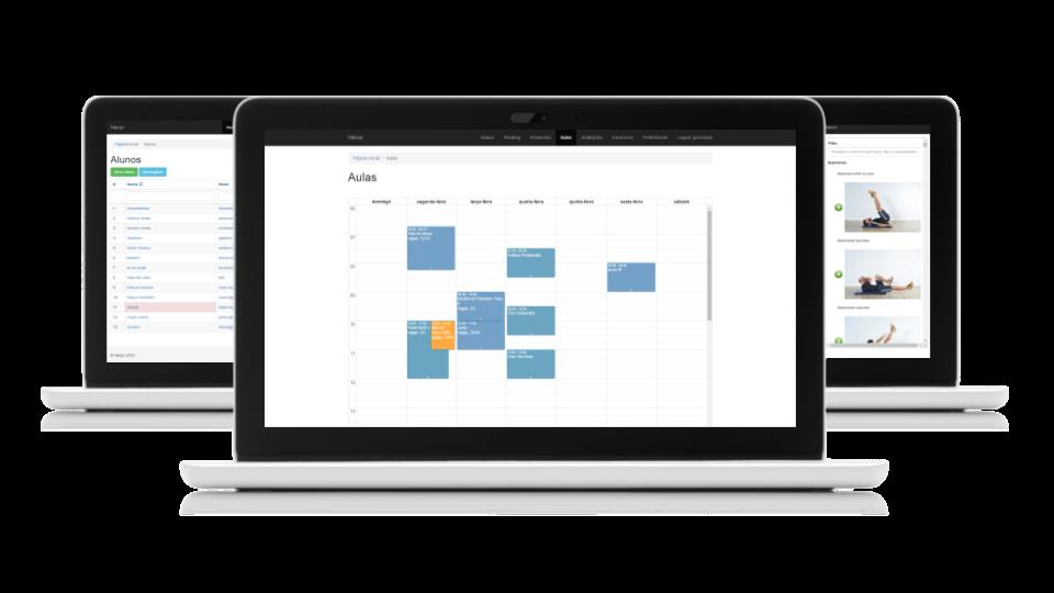 Software e aplicativo de gestão fitness Nexur