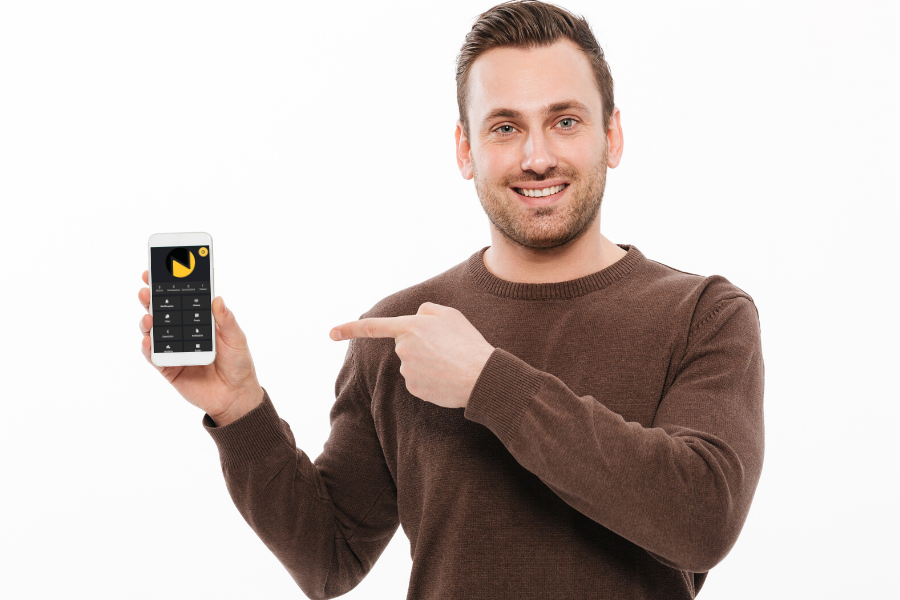 Depoimentos de clientes do app para personal Nexur