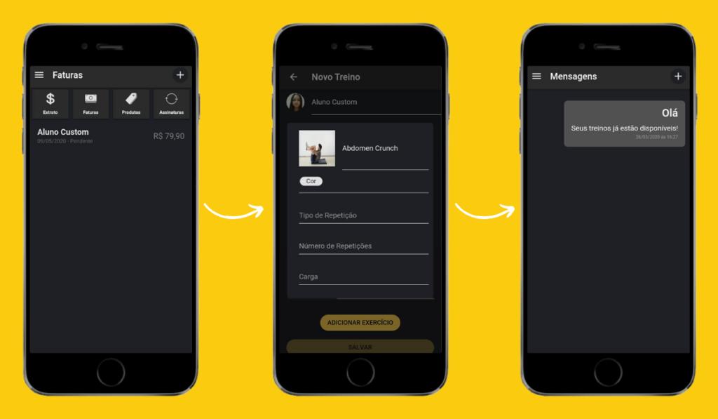 Como montar seu processo de vendas de personal trainer no app Nexur
