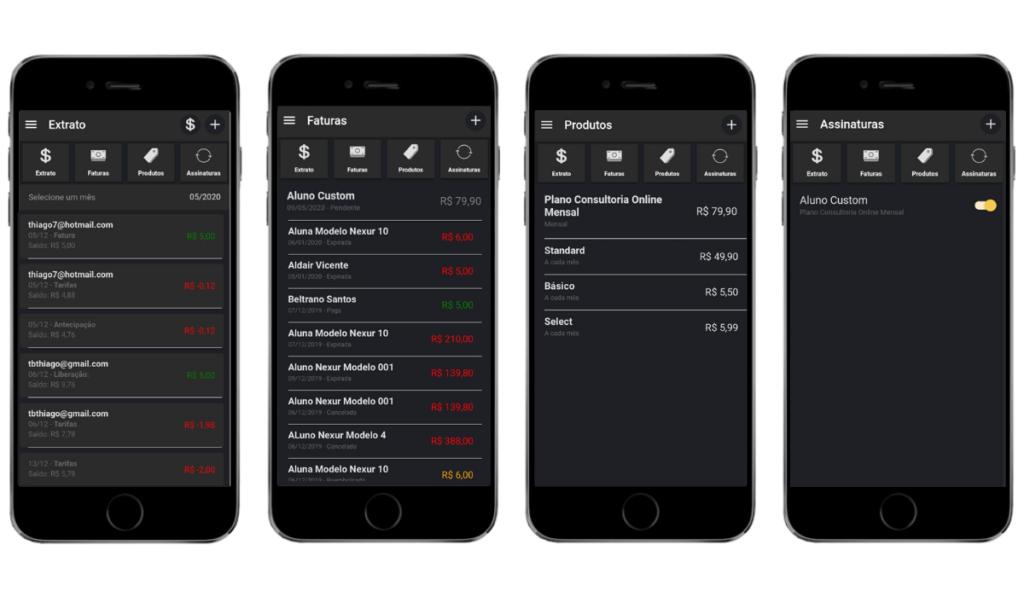 Nova funcionalidade: Receber pagamentos pelo app Financeiro Nexur
