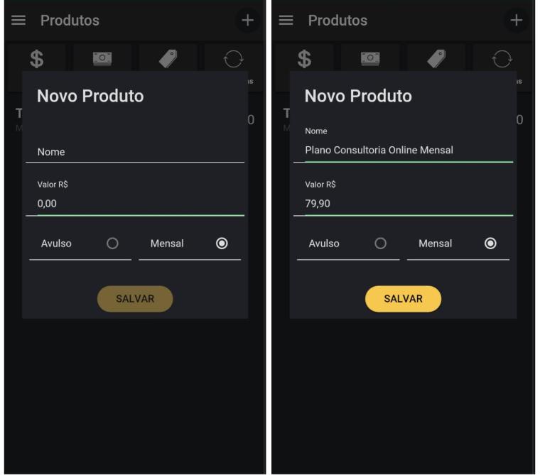 Como criar um produto de consultoria online no app Nexur